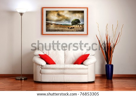 Welcoming home - stock photo