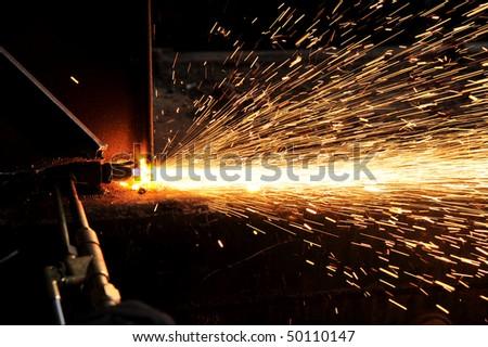 weld - stock photo