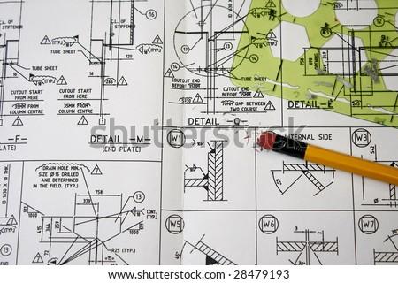 Welding symbols - stock photo