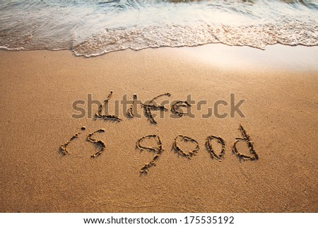 well being - stock photo