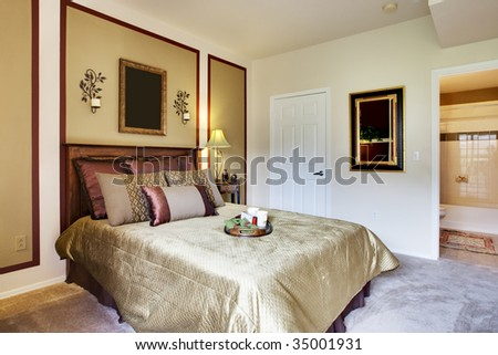 Small long apartment kitchen stock photo 35002918 for Well decorated bedroom