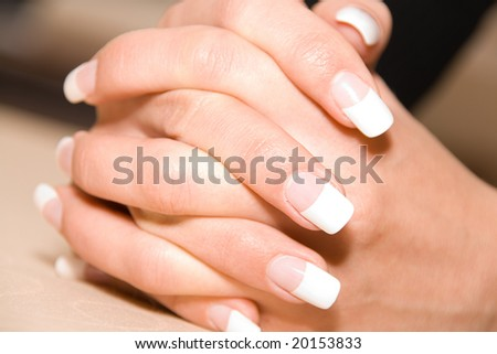 Well-groomed hands