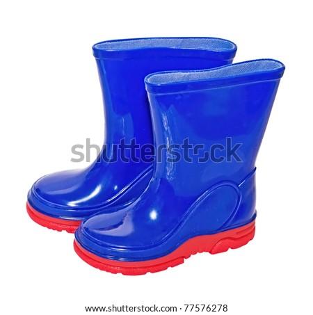 Wellington, (rubber) boots - stock photo