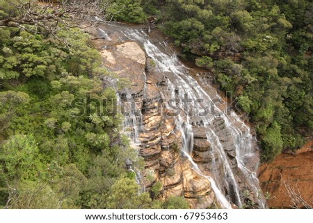 Wentworth Falls, Blue Mountains National Park, Sydney, Australia