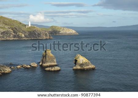 West Cork seascape, Ireland - stock photo