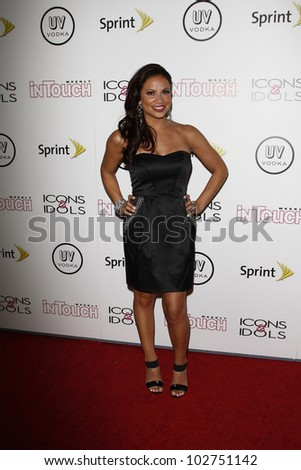 WEST HOLLYWOOD - AUG 28: Carolina Bermudez at the 4th annual Icons & Idols party at the Sunset Tower Hotel in West Hollywood, California on August 28, 2011