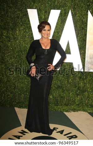 WEST HOLLYWOOD, CA - FEB 26: Tia Carrere at the Vanity Fair Oscar Party at Sunset Tower on February 26, 2012 in West Hollywood, California. - stock photo