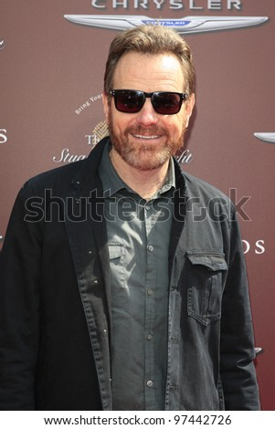 WEST HOLLYWOOD, CA - MAR 11: Bryan Cranston at the 9th Annual John Varvatos Stuart House Benefit on March 11, 2012 in West Hollywood, Californiaa