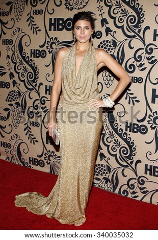 WEST HOLLYWOOD, CALIFORNIA - September 20, 2009. Jamie-Lynn Sigler at the HBO POST EMMY Party held at the Pacific Design Center, West Hollywood, Los Angeles.   - stock photo