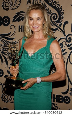 WEST HOLLYWOOD, CALIFORNIA - September 20, 2009. Jessica Lange at the HBO POST EMMY Party held at the Pacific Design Center, West Hollywood, Los Angeles.   - stock photo