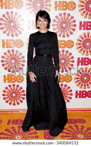 WEST HOLLYWOOD, CALIFORNIA - September 18, 2011. Lena Heady at the HBO's 2011 Emmy After Party held at the Pacific Design Center, Los Angeles.   - stock photo
