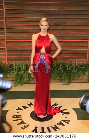 WEST HOLLYWOOD - MAR 2:: Jaime King at the 2014 Vanity Fair Oscar Party on March 2, 2014 in West Hollywood, California - stock photo