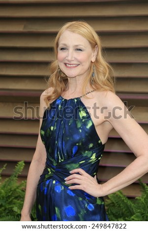 WEST HOLLYWOOD - MAR 2:: Patricia Clarkson at the 2014 Vanity Fair Oscar Party on March 2, 2014 in West Hollywood, California - stock photo
