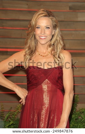 WEST HOLLYWOOD - MAR 2:: Sheryl Crowe at the 2014 Vanity Fair Oscar Party on March 2, 2014 in West Hollywood, California - stock photo