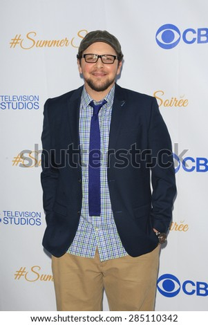 WEST HOLLYWOOD - MAY 18: Austin Basis at the CBS Television Studios 3rd Annual Summer Soiree Party held at The London Hotel on May 18, 2015 in West Hollywood, California - stock photo