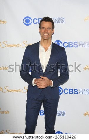WEST HOLLYWOOD - MAY 18: Cameron Mathison at the CBS Television Studios 3rd Annual Summer Soiree Party held at The London Hotel on May 18, 2015 in West Hollywood, California - stock photo
