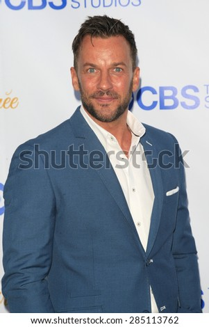 WEST HOLLYWOOD - MAY 18: Craig Parker at the CBS Television Studios 3rd Annual Summer Soiree Party held at The London Hotel on May 18, 2015 in West Hollywood, California - stock photo