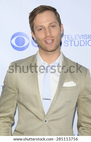 WEST HOLLYWOOD - MAY 18: Jonathan Keltz at the CBS Television Studios 3rd Annual Summer Soiree Party held at The London Hotel on May 18, 2015 in West Hollywood, California - stock photo