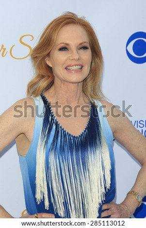 WEST HOLLYWOOD - MAY 18: Marg Helgenberger at the CBS Television Studios 3rd Annual Summer Soiree Party held at The London Hotel on May 18, 2015 in West Hollywood, California - stock photo