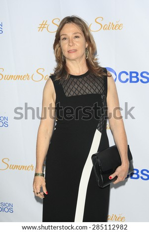 WEST HOLLYWOOD - MAY 18: Megan Follows at the CBS Television Studios 3rd Annual Summer Soiree Party held at The London Hotel on May 18, 2015 in West Hollywood, California - stock photo