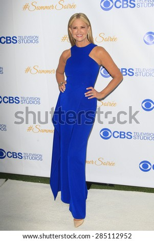 WEST HOLLYWOOD - MAY 18: Nancy O'Dell at the CBS Television Studios 3rd Annual Summer Soiree Party held at The London Hotel on May 18, 2015 in West Hollywood, California - stock photo
