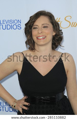 WEST HOLLYWOOD - MAY 18: Rachel Bloom at the CBS Television Studios 3rd Annual Summer Soiree Party held at The London Hotel on May 18, 2015 in West Hollywood, California