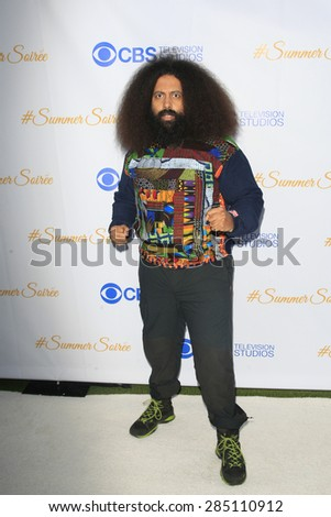 WEST HOLLYWOOD - MAY 18: Reggie Watts at the CBS Television Studios 3rd Annual Summer Soiree Party held at The London Hotel on May 18, 2015 in West Hollywood, California - stock photo