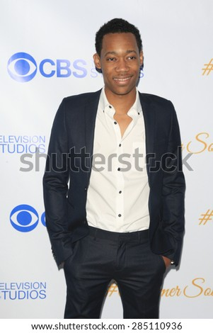 WEST HOLLYWOOD - MAY 18: Tyler James Williams at the CBS Television Studios 3rd Annual Summer Soiree Party held at The London Hotel on May 18, 2015 in West Hollywood, California - stock photo