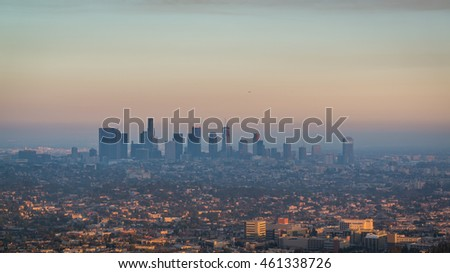 West Los Angeles from Griffith Observatory