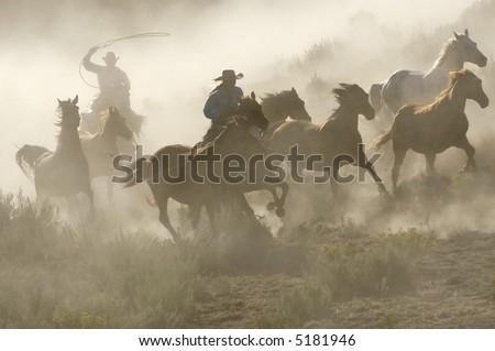Western Glory - stock photo