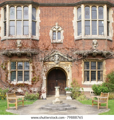 Westminster College in Cambridge - stock photo