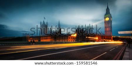 Westminster dream - stock photo