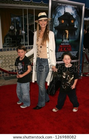 "WESTWOOD - JULY 17: Shawn Southwick and family at the premiere of ""Monster House"" at Mann Village Theater July 17, 2006 in Westwood, CA."