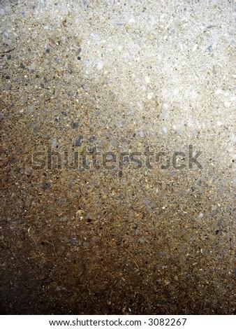 wet walkway - stock photo