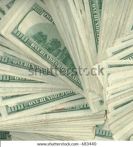 What cash on the barrel looks like - stock photo