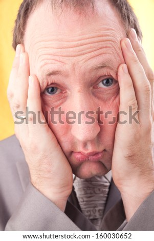 What have I done? What will happen? - stock photo