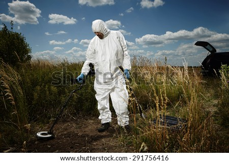 What is it there? - stock photo