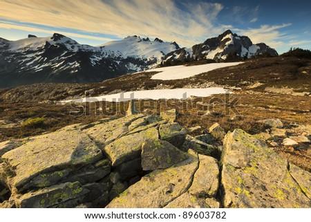 Whatcom Pass - stock photo