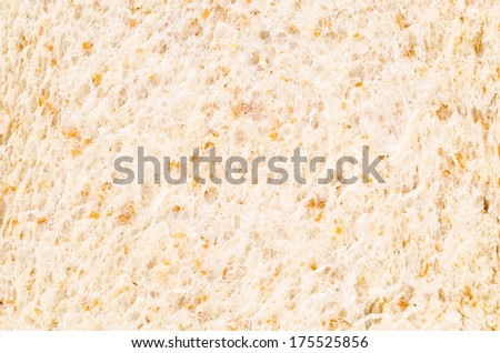 Wheat bread texture for background