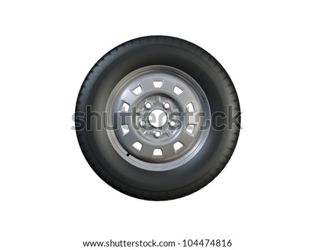 Wheel - stock photo