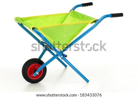 Wheel Barrow - stock photo