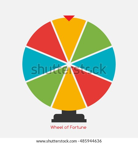 online wheel of fortune template - wheel of fortune stock images royalty free images