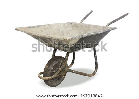 Wheelbarrow - stock photo