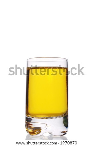 whiskey and lemon cocktail - stock photo