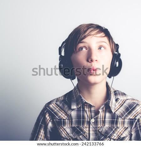 whistle good music - stock photo