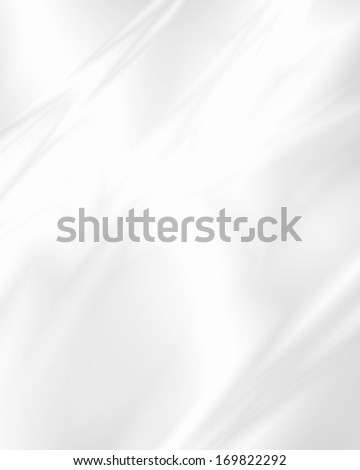 white abstract background smooth gradient glass texture or white metal texture - stock photo