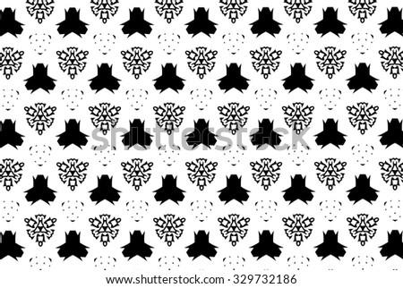 White and black patterns. M