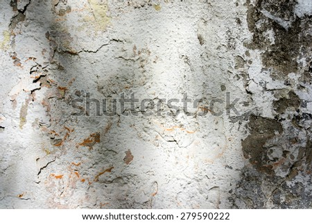 white and black with shadows concrete wall texture background on a sunny light