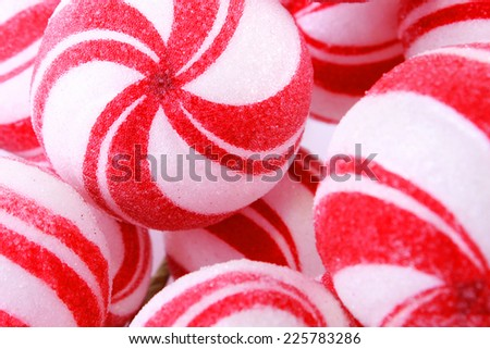 White and red Christmas decoration - stock photo