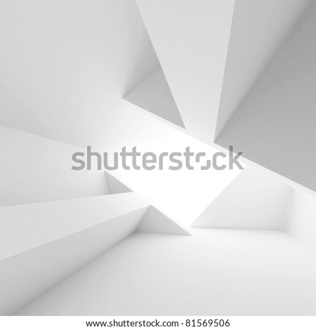 White Architecture Construction - stock photo